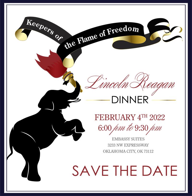 Lincoln Reagan Dinner OKC 2021